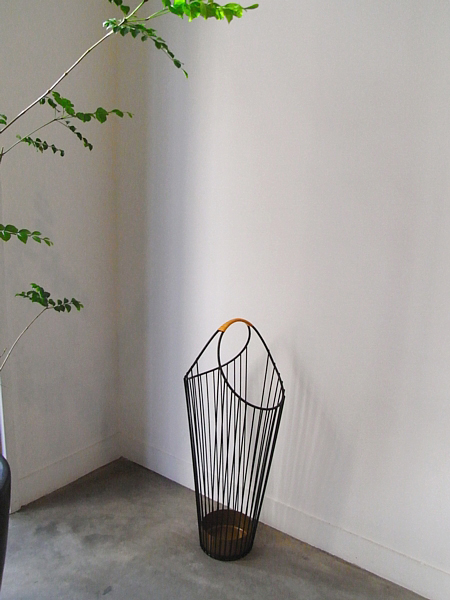 Vintage Wire Umbrella Stand