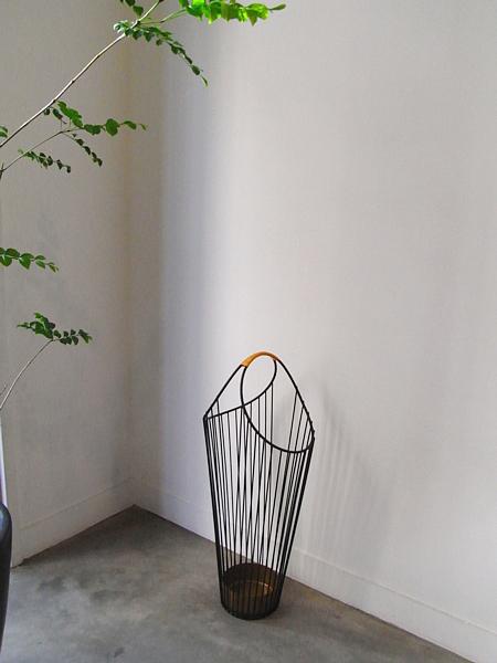 Vintage Wire Umbrella Stand