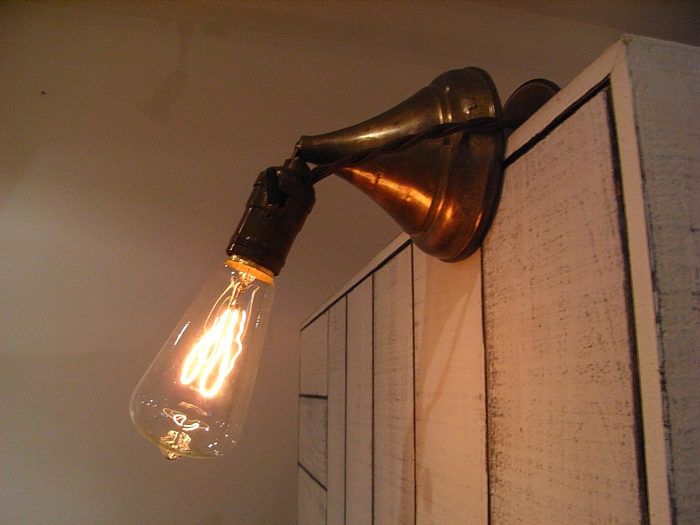 Buss Clamp-o-set lamp