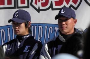 石井選手&松下投手