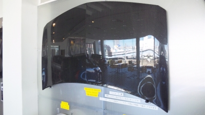 R26.Rに装着されていますドライカーボン製のボンネット