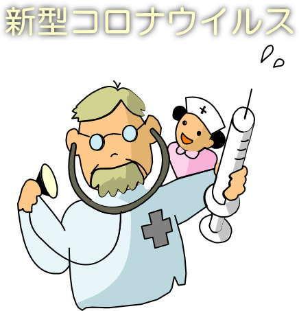 インフルエンザ予防の図