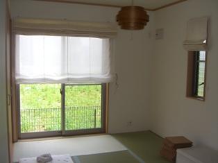 和室でーす