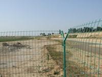 整備中の漢魏洛陽故城の東北角