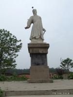 司馬懿故里の司馬懿像