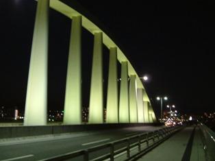 宇品橋 夜