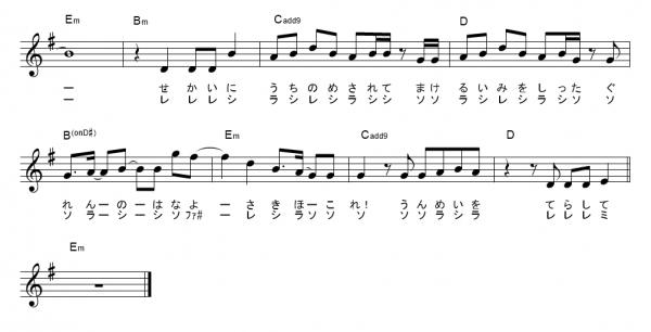 紅蓮 花 楽譜