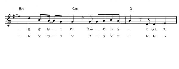 きめつのやいば ドレミ楽譜