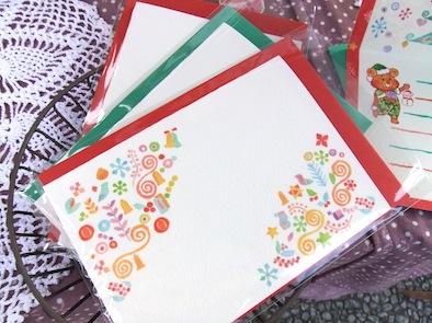 クリスマスカード封筒