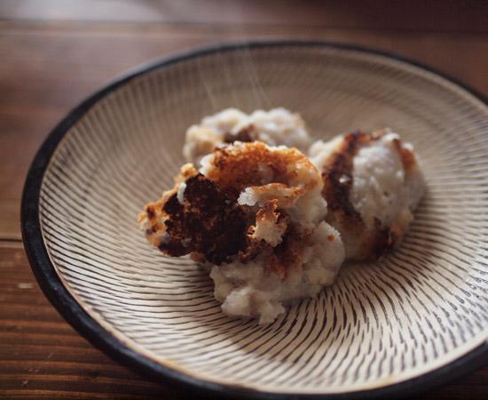 カリカリ&モチモチれんこんチーズ餅