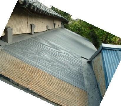 屋根ペイント下塗り