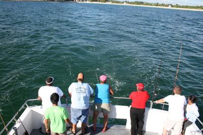 マイアミ乗合船トローリング