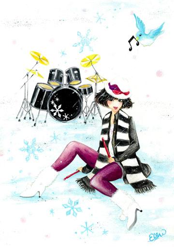 ガールズイラスト「Winter」