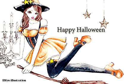 Halloween 魔女