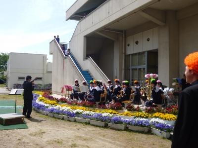 西部中学春の音楽祭
