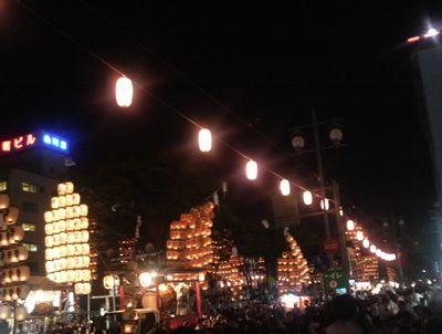 稲庭宝泉堂in秋田竿燈祭