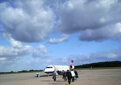 秋田空港から大阪へ