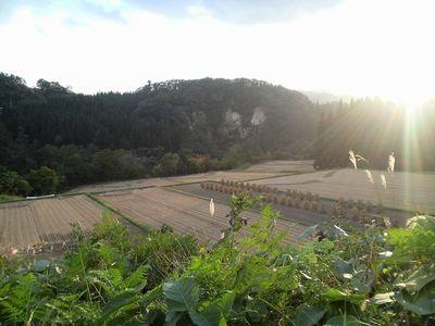 秋田県湯沢市皆瀬の風景