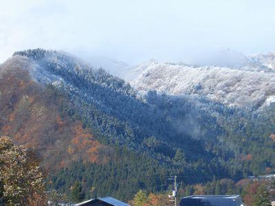 稲庭うどんの郷初雪