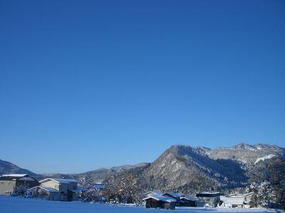 稲庭うどんの郷 雪景色2