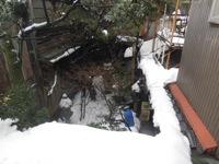 コピロリの雪遊び