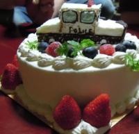 金沢小町 パトカーケーキ