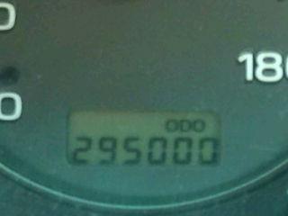 走行距離295,000キロ