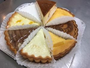 8種のチーズケーキアソート