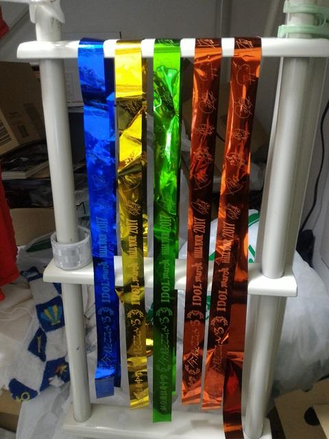 各色のテープ