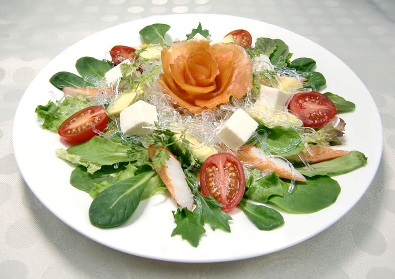 母の日サラダ