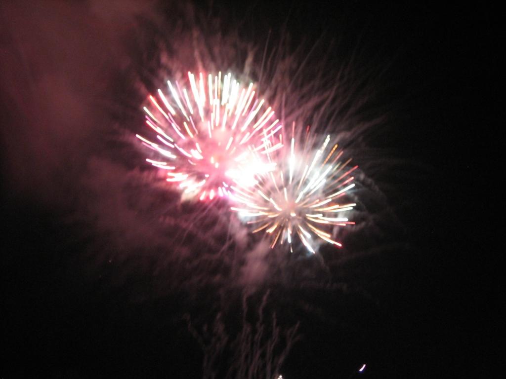桑野の花火
