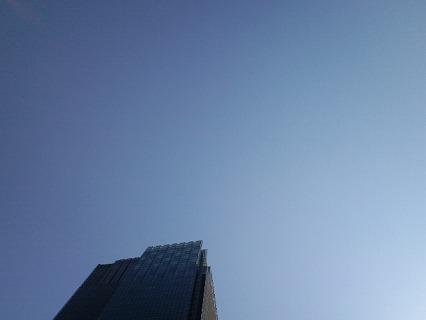 ミッドタウンの空