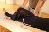 足の位置と膝の角度