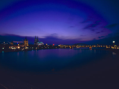Stadt Köln Nacht