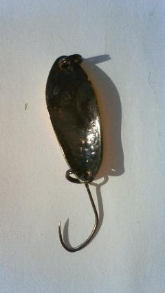 管理釣り場で使用したスプーン
