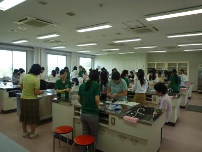 ラムネづくり(食物栄養学)
