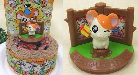 とっとこハム太郎 キャラデコ バースデーケーキ チョコ生クリーム苺ケーキ予約