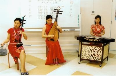中国民族楽器の生演奏