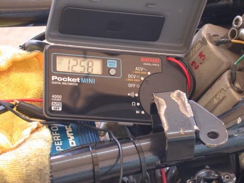 バッテリー電圧測定