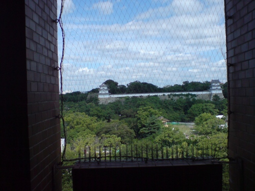 講習会場の窓から見える風景