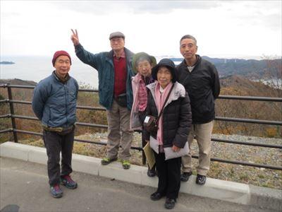 松戸から参加した5人