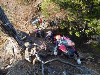 八丁峠からは早くも登りが始まります