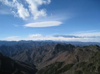 東岳からの眺望