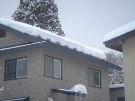 屋根融雪軒先5
