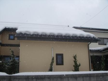 屋根融雪軒先7
