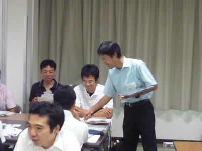 第1回東北青年塾 阿部隆幸模擬授業