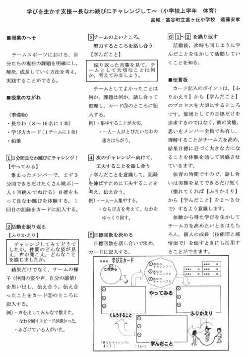 遠藤安孝レポ
