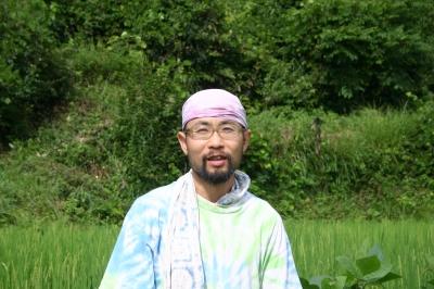 yasu 堀江恭史さん。ロケットストーブや土かまどの達人。