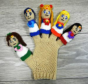 セーラームーン手袋