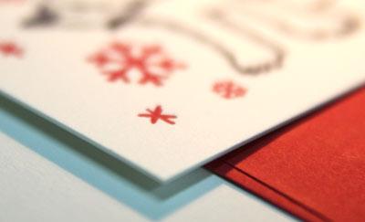 クリスマスカードアップ